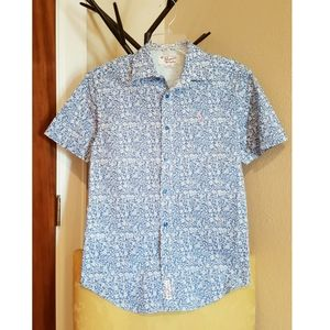 Penguin floral shirt